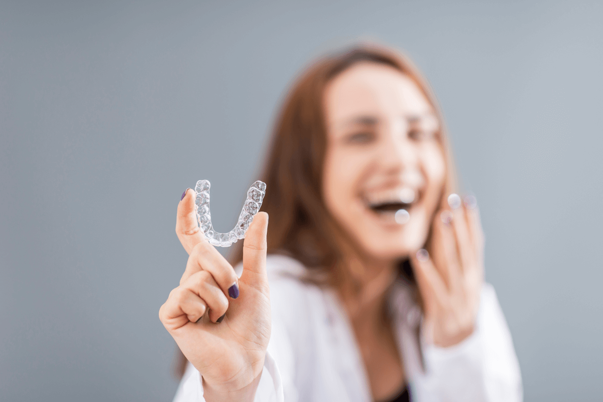aparate dentare invizibile Cluj - Spark aligners